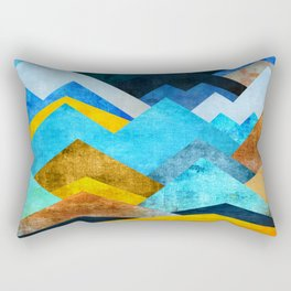 Ocean Peaks Rectangular Pillow