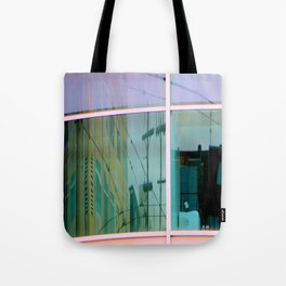 Curvilinear Motion Tote Bag