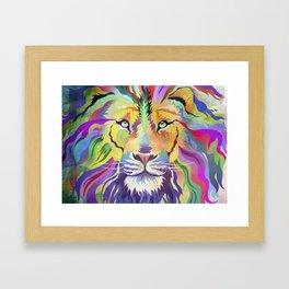 King of Technicolor II Framed Art Print