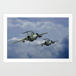 Buccaneer - Leads the Field Art Print