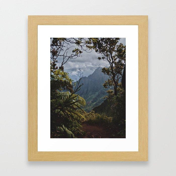 The Garden Isle Framed Art Print