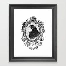 Old Black Crow Framed Art Print