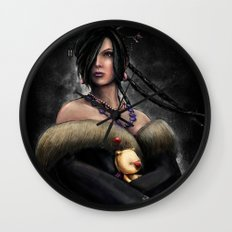 Final Fantasy X Lulu Painting Portrait Wall Clock