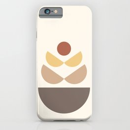 Abstraction Shapes 9 i(Sun and Moon Phases) iPhone Case