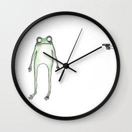 The Path to the Nest of Spiders Wall Clock