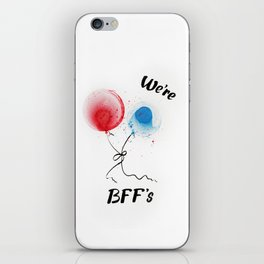We are BFF's iPhone Skin