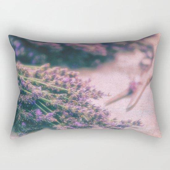 Lavender Revival Rectangular Pillow