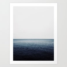 The Greatest Lake Art Print