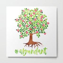 Abundant Apple Tree Metal Print