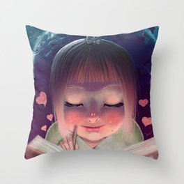 Inner Universe Throw Pillow