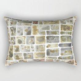 Textured Earthy abstract Rectangular Pillow