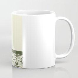 Olive Oak Damask Coffee Mug