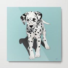 Dalmatian Puppy Metal Print