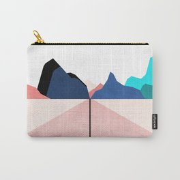 ON THE RIGHT TRACK - PASTEL Carry-All Pouch