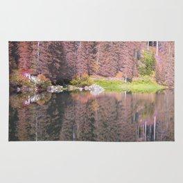 Rainbow Lake Rug
