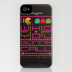 pacman ghostbuster iPhone (4, 4s) Slim Case