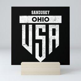 Sandusky Ohio Mini Art Print