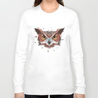 hunter Long Sleeve T-shirts featuring Hunter by Jordan Smith