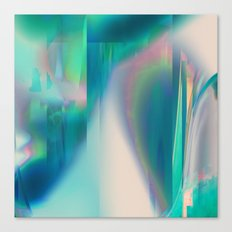 Pacifica glitch Canvas Print
