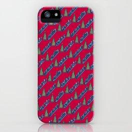 Let's Go Power Shopping! – Xmas Edition iPhone Case