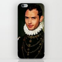 law iPhone & iPod Skins featuring Jude Law by Kimberley Britt