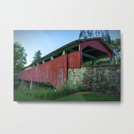 Bogert's Bridge - Long View Metal Print
