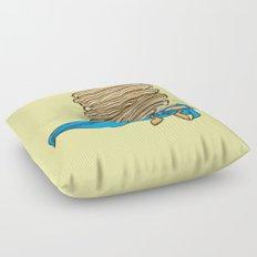 Captain Pancake Descends Floor Pillow