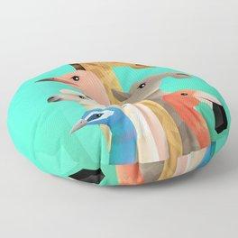 Long necks Floor Pillow