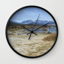Mono Lake Tufa, No. 4 Wall Clock