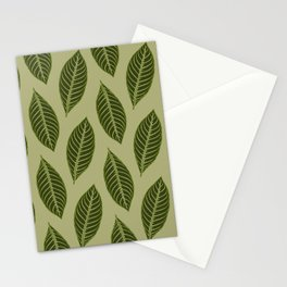 ever green foliage Stationery Cards