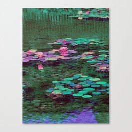 Beverly Hills Water Lily Canvas Print