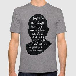 Ruth Bader Ginsburg Quote T-shirt