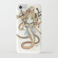 magic the gathering iPhone & iPod Cases featuring Snake Token - Magic the Gathering - Pharika by Deadlance
