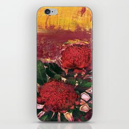 Waratah Dreaming iPhone Skin