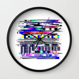Glitch Ver.1 Wall Clock