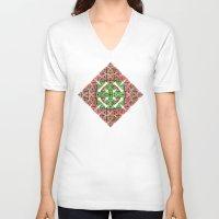 diamond V-neck T-shirts featuring Diamond by Lyle Hatch