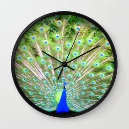 Peacock Feathers | Bird | Birds | Nadia Bonello | Canada Wall Clock