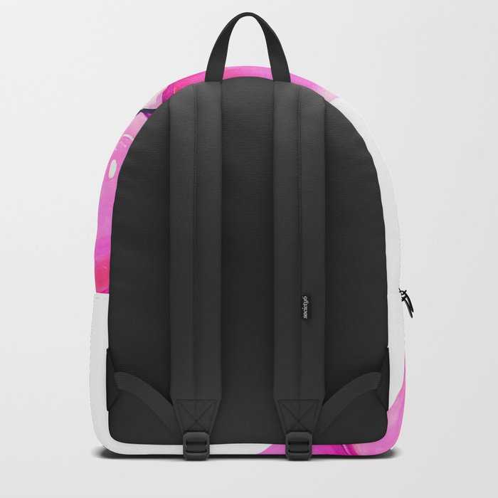 Pink lips Backpack