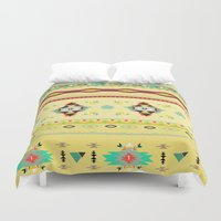 southwest Duvet Covers featuring southwest by studiomarshallarts