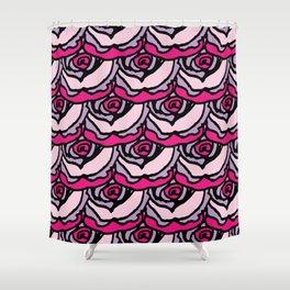 Rock Rose Pink Shower Curtain
