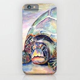 Turtle at Poipu Beach iPhone Case