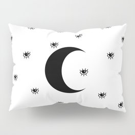 Eye Moon Pillow Sham