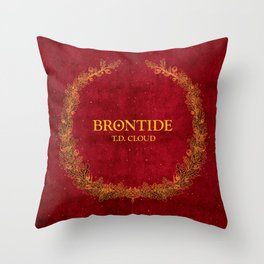 Brontide Throw Pillow