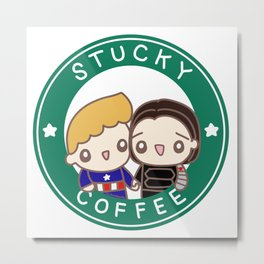 Stucky coffee Metal Print