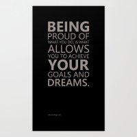 Proud Dreams Art Print