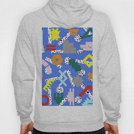 Abstract Postmodern Kilim Shapes Hoody