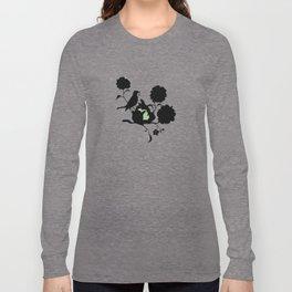 Michigan - State Papercut Print Long Sleeve T-shirt