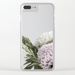 for the love of flowers 4 Clear iPhone Case