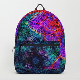 The Flower at the Center of Zen Backpack