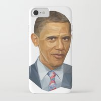 obama iPhone & iPod Cases featuring Obama 2012 by HOPE 4 MORE